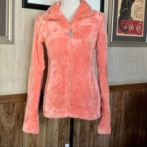 Bench fuzzy jacket size Small in peach color